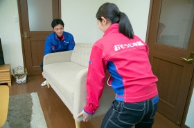 家具を移動